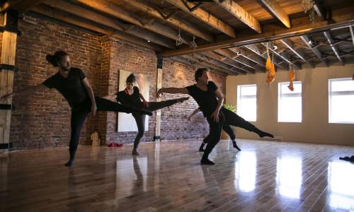 Dancers : Jean-François Duke, Odile-Amélie Peters, Ariane Voineau